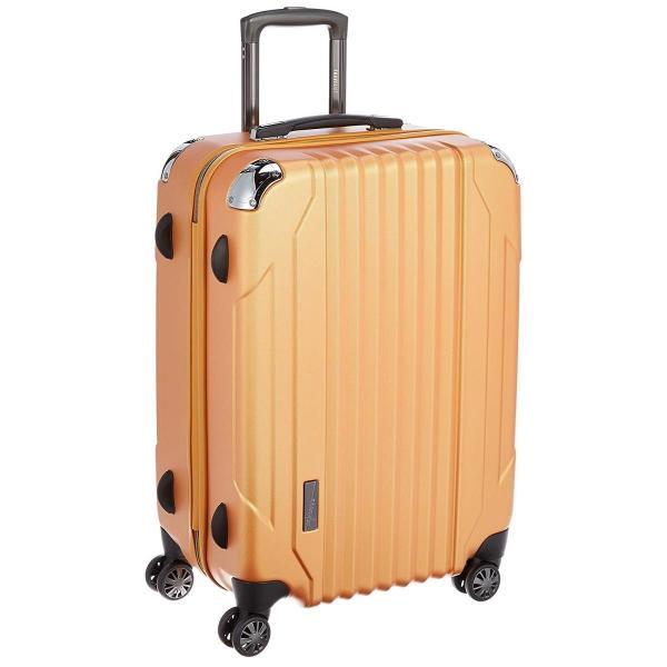 [トラベリスト] スーツケース キャパリエ 大容量 ファスナーハード 容量67L 縦サイズ66cm 重量3.9kg 76-30277 7 オ