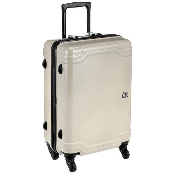 [ゼロブリッジ] スーツケース モントローズ キャスターストッパー付 06432 50L 56cm 3.4kg 06432 09 グレーグラ