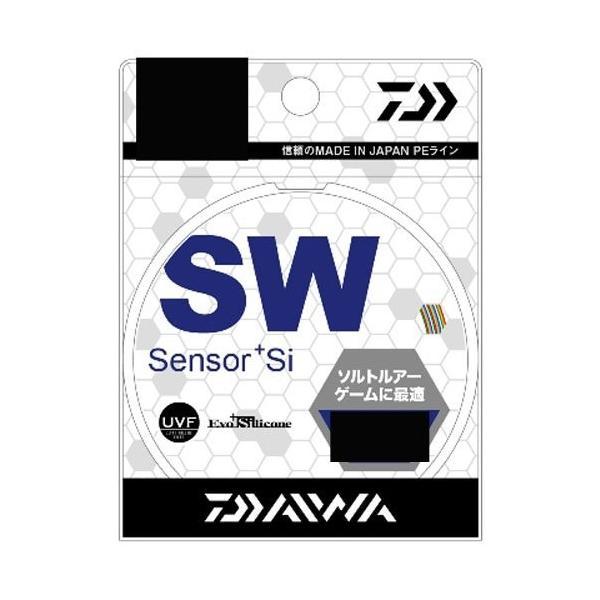 ダイワ(Daiwa) PEライン UVF SWセンサー+Si 300m 5号 28lb マルチカラー