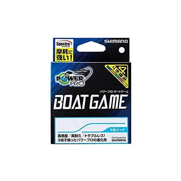 シマノ(SHIMANO) PEライン パワープロ ボートゲーム 200m 0.6号 マルチカラー PP-F62N