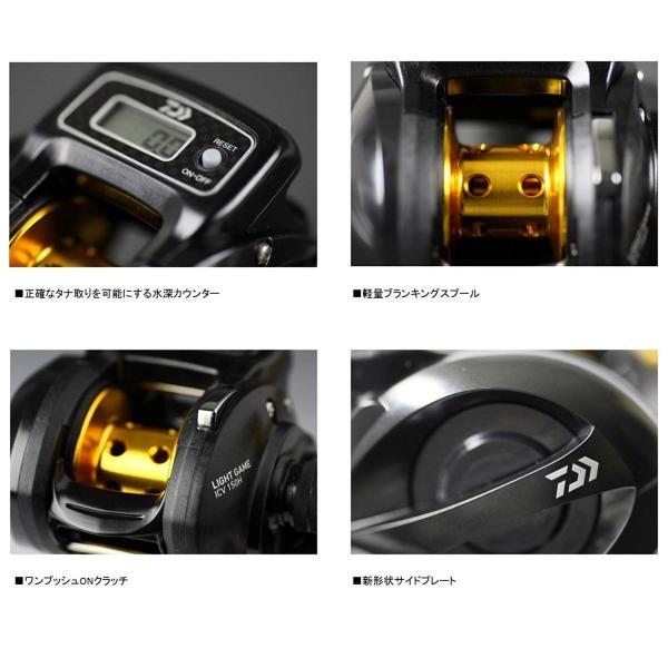 ダイワ(Daiwa) 両軸リール カウンター付き 15 ライトゲーム ICV 150H-L