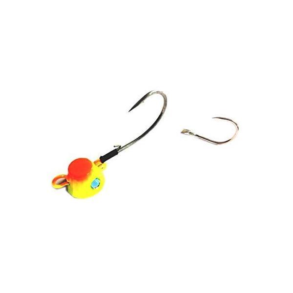 シマノ 炎月テンヤ太軸仕様テンヤ8号 EK-008K チャートオレンジ10T 75807