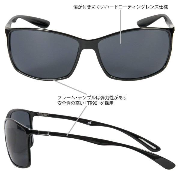 タカミヤ(TAKAMIYA) H.B concept 偏光グラス 超軽量 薄型スクエアタイプ