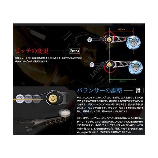 リブレ(LIVRE) SB(エスビー)60-65 ダイワB1用 GMG(ガンメタ×ゴールド) 60mm-65mm SB-66B1-GMG