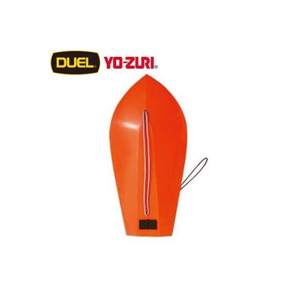 ヨーヅリ(YO-ZURI) 漁具: 潜水板K型 ネソ糸付 赤 9号