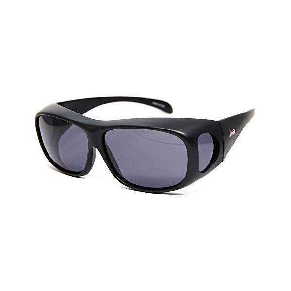 コールマン アウトドアサングラス 偏光レンズ CM-4019-1 UV99%カット オーバーグラスタイプ(眼鏡対応) トリアセテート CM-|caply