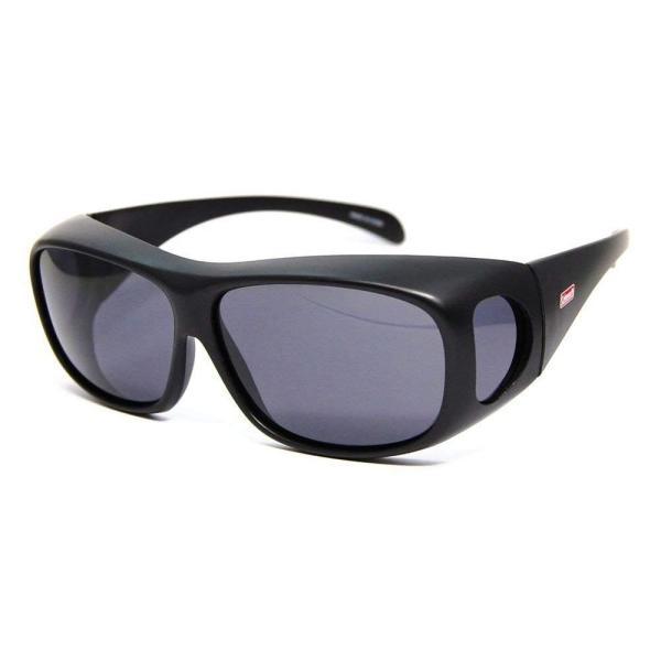 コールマン アウトドアサングラス 偏光レンズ CM-4019-1 UV99%カット オーバーグラスタイプ(眼鏡対応) トリアセテート CM-|caply|02