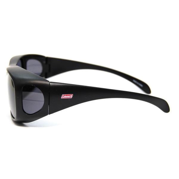 コールマン アウトドアサングラス 偏光レンズ CM-4019-1 UV99%カット オーバーグラスタイプ(眼鏡対応) トリアセテート CM-|caply|03