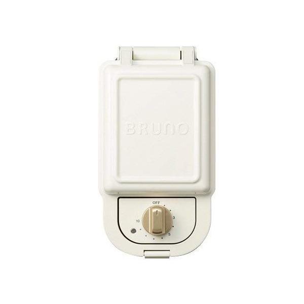 BRUNO ホットサンドメーカー シングル レシピブックセット ホワイト / BOE43|caply|04