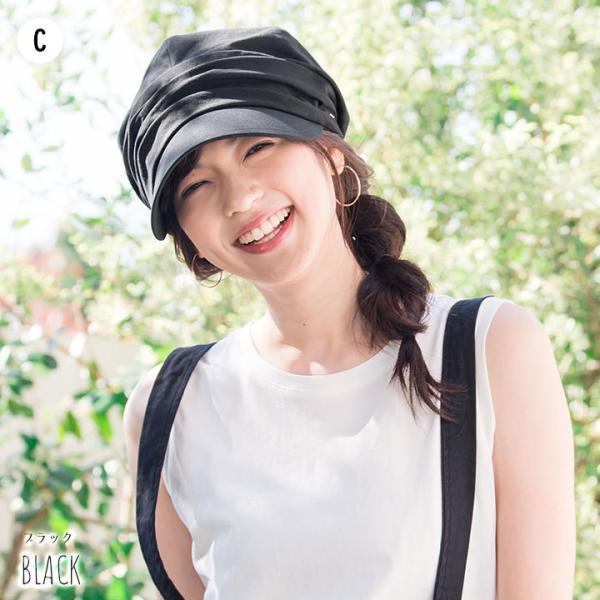 帽子 レディース キャスケット UPF50+ UVハット秋 冬 | イロドリ irodori (YP)|caponspotz|07