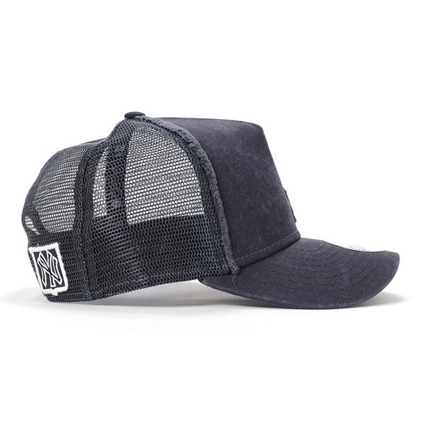 ニューエラ キッズ 子供用 メッシュキャップ 帽子 NEW ERA KIDS ヤンキース ネイビー|caponspotz|02