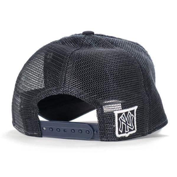ニューエラ キッズ 子供用 メッシュキャップ 帽子 NEW ERA KIDS ヤンキース ネイビー|caponspotz|03