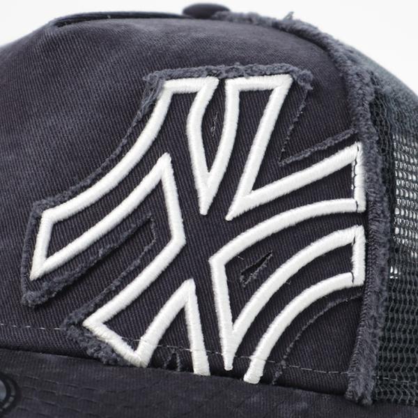 ニューエラ キッズ 子供用 メッシュキャップ 帽子 NEW ERA KIDS ヤンキース ネイビー|caponspotz|05