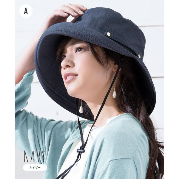 帽子 レディース 春 夏 UVカット UPF50+ コットン ハット | イロドリ irodori (MB)|caponspotz|12