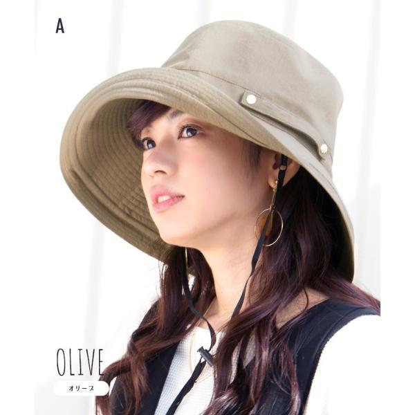 帽子 レディース 春 夏 UVカット UPF50+ コットン ハット | イロドリ irodori (MB)|caponspotz|14