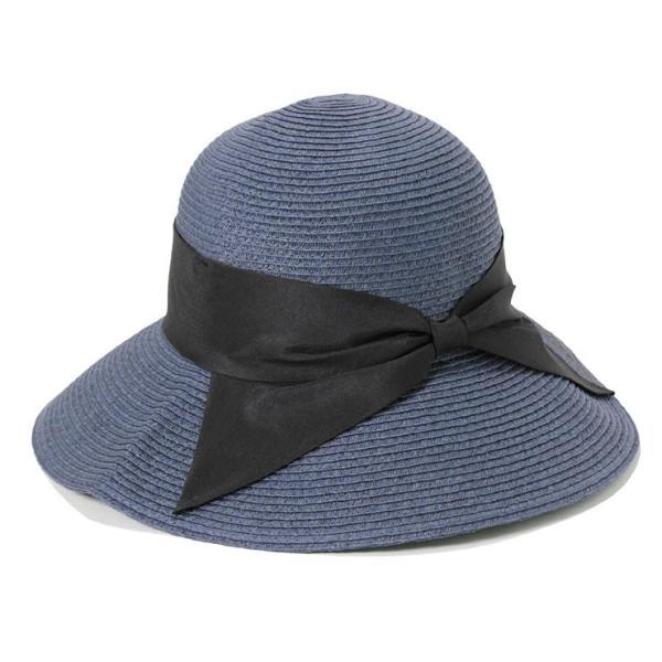 帽子 レディース 春 夏 麦わら帽子 IRO リボン | イロドリ irodori (MB)|caponspotz|12