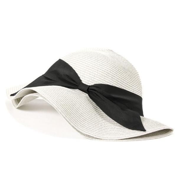 帽子 レディース 春 夏 麦わら帽子 IRO リボン | イロドリ irodori (MB)|caponspotz|17
