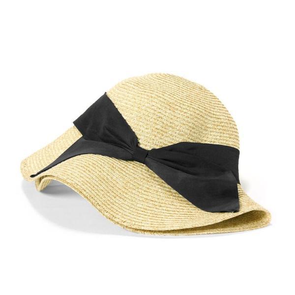 帽子 レディース 春 夏 麦わら帽子 IRO リボン | イロドリ irodori (MB)|caponspotz|19