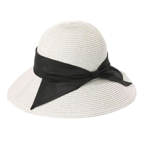 帽子 レディース 春 夏 麦わら帽子 IRO リボン | イロドリ irodori (MB)|caponspotz|09