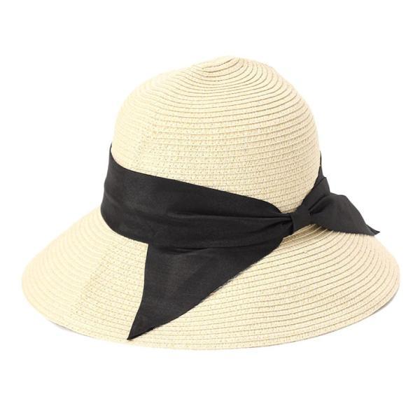 帽子 レディース 春 夏 麦わら帽子 IRO リボン | イロドリ irodori (MB)|caponspotz|10