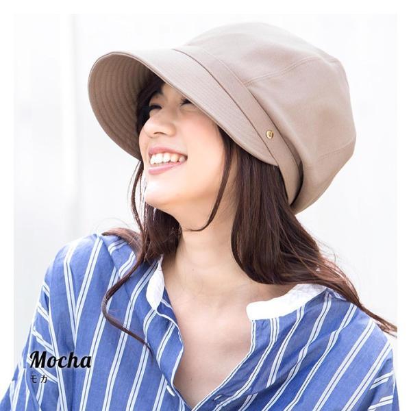 帽子 レディース キャスケット UPF50+ UVハット 春 夏 | イロドリ irodori  (YP)|caponspotz|07