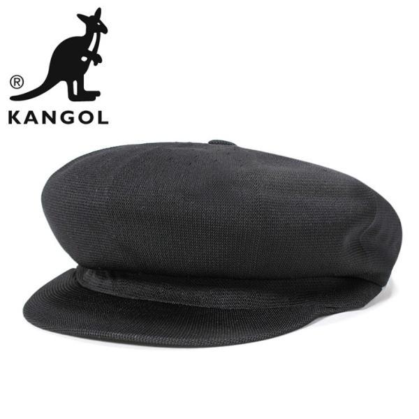 カンゴールキャスケット帽子スピットファイアブラック