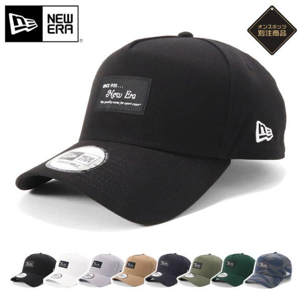 別注 ニューエラ キャップ 帽子 9FORTY BLACK PATCH|caponspotz