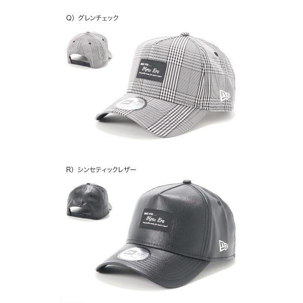 別注 ニューエラ キャップ 帽子 9FORTY BLACK PATCH|caponspotz|15