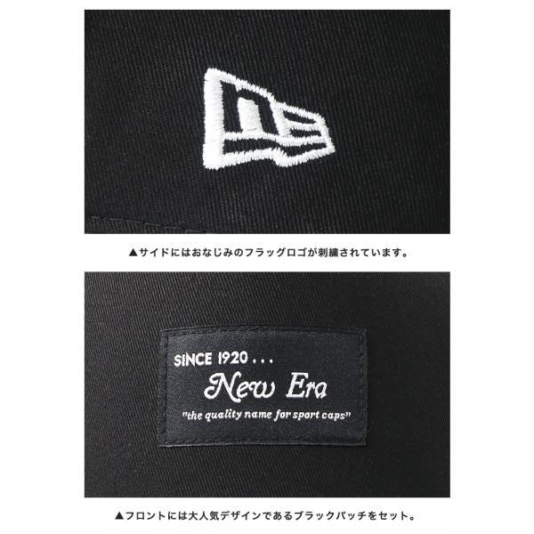 別注 ニューエラ キャップ 帽子 9FORTY BLACK PATCH|caponspotz|17