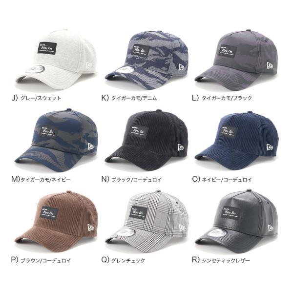 別注 ニューエラ キャップ 帽子 9FORTY BLACK PATCH|caponspotz|03