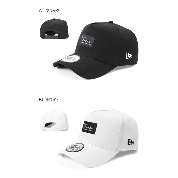 別注 ニューエラ キャップ 帽子 9FORTY BLACK PATCH|caponspotz|06