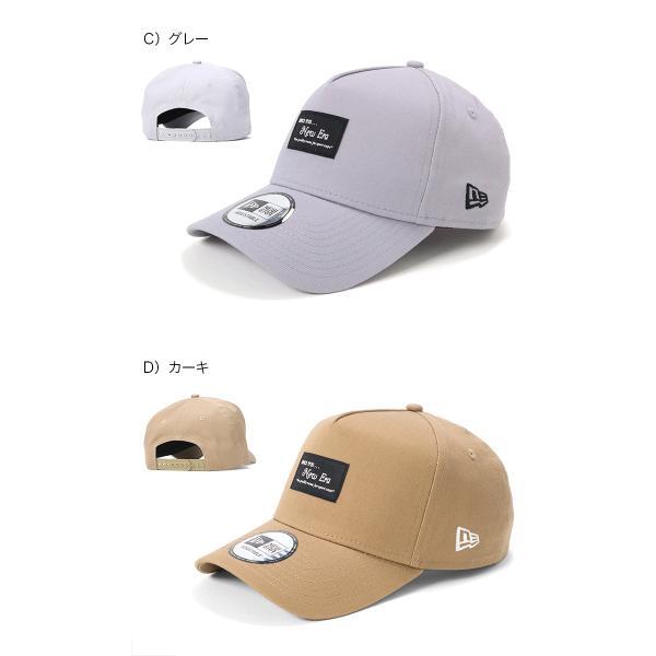 別注 ニューエラ キャップ 帽子 9FORTY BLACK PATCH|caponspotz|07