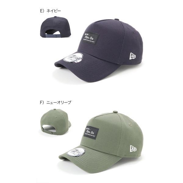 別注 ニューエラ キャップ 帽子 9FORTY BLACK PATCH|caponspotz|08
