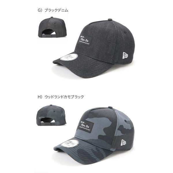 別注 ニューエラ キャップ 帽子 9FORTY BLACK PATCH|caponspotz|09