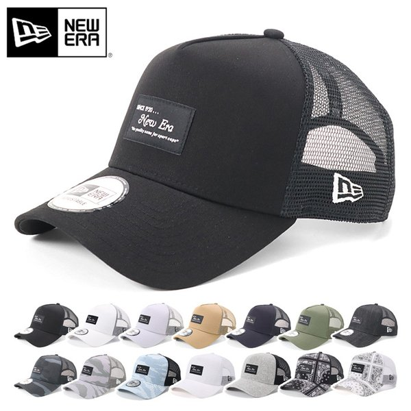 a9a8ffd89cd47c 別注 ニューエラ メッシュキャップ 帽子 9FORTY BLACK PATCH NEW ERA ...