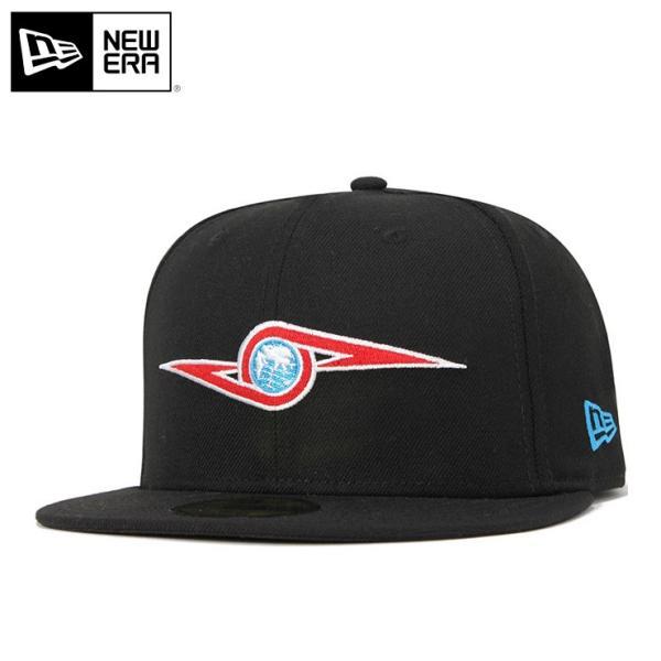 ニューエラキャップ帽子NEWERA59FIFTYコラボブラック