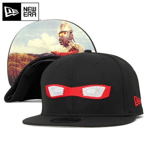 ニューエラキャップ帽子NEWERA9FIFTYコラボブラック