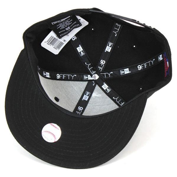 ニューエラ キャップ 帽子 NEW ERA 9FIFTY ヤンキース ブラック|caponspotz|04