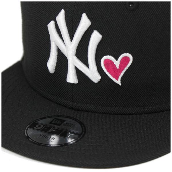 ニューエラ キャップ 帽子 NEW ERA 9FIFTY ヤンキース ブラック|caponspotz|05