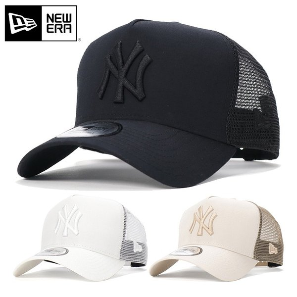 1f9d8428d669 ニューエラ メッシュキャップ 帽子 9FORTY TYPEWRITER MLB ニューヨークヤンキース NEW ERA メンズの画像