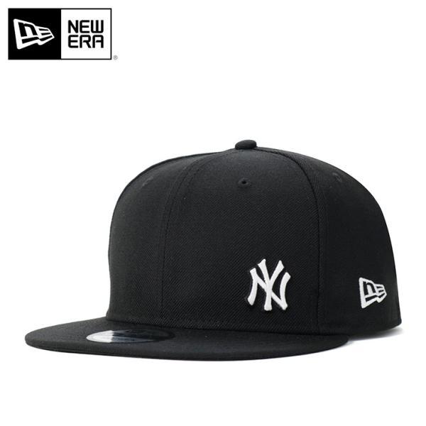 97f867f15833 ニューエラ キャップ 帽子 スナップバック 9FIFTY FLAWLESS MLB ニューヨークヤンキース ブラック/ホワイト NEW ERA メンズ