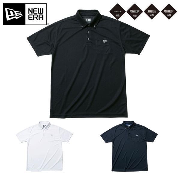 31ee4d6a21234 ニューエラ ゴルフ ポロシャツ ボタンダウン ポケット KANOKO NEW ERA ...