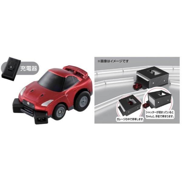 【64%OFF】チョロQ 自動走行チョロQ Q-eyes コースガレージセット 日産 GTR|captain-store|02