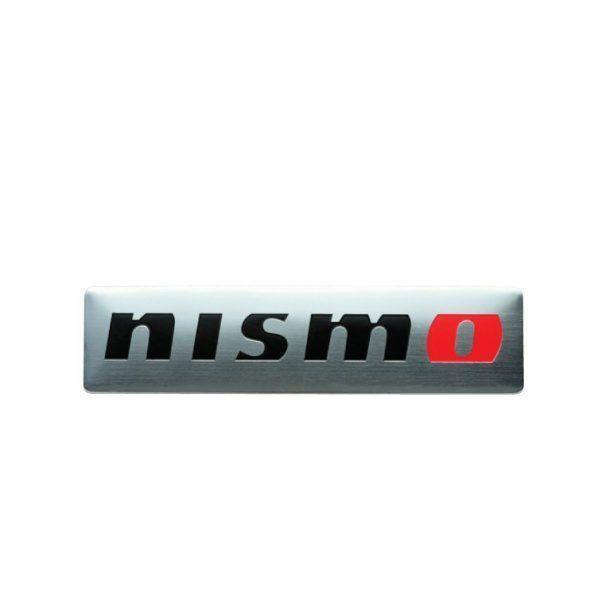 【ネコポス可能】NISMO ニスモ 99993-RN209 メタルエンブレム シルバー