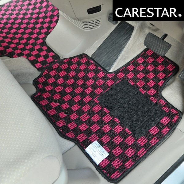 N-ONE フロアマット チェック柄プレイドシリーズ カー・マット Z-style|car-seatcover|11
