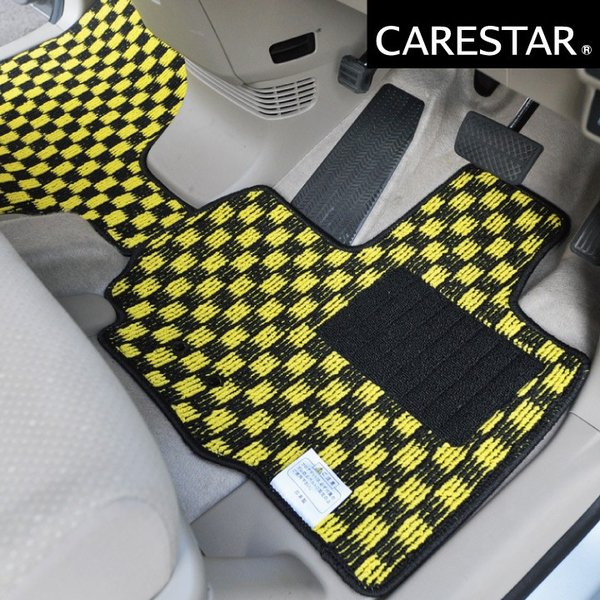 N-ONE フロアマット チェック柄プレイドシリーズ カー・マット Z-style|car-seatcover|13