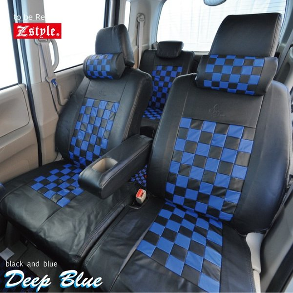 スズキ ハスラー シートカバー Z-style モノクロームチェック 軽自動車 車種専用 Z-style|car-seatcover|10