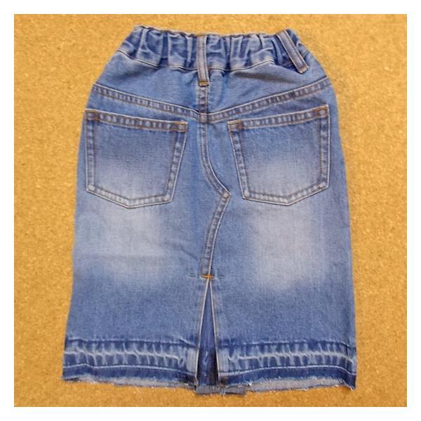 40%OFF SALE/Granny Branket グラニーブランケット シシュウデニムタイトスカート 90-140 18ss|caramelmama|02