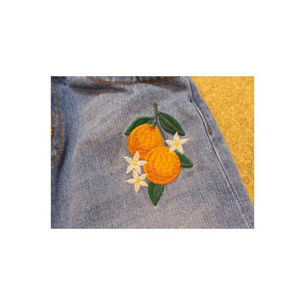 40%OFF SALE/Granny Branket グラニーブランケット シシュウデニムタイトスカート 90-140 18ss|caramelmama|04