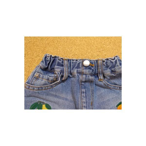 40%OFF SALE/Granny Branket グラニーブランケット シシュウデニムタイトスカート 90-140 18ss|caramelmama|05